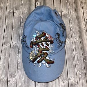 Bejeweled by Susan Fixel- Blue Hat